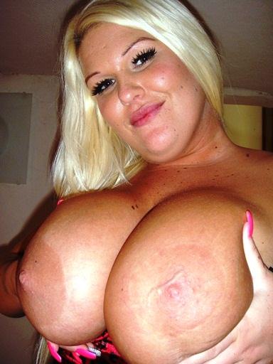 Busty blonde british sapphire