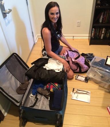 Pornstar on baggage — img 15