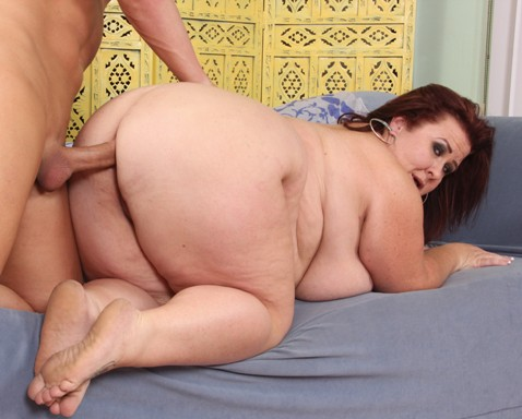 Bbw lady fucked with creampie